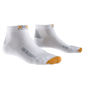 X-Socks Run Discovery - Calcetines Running Hombre - blanco